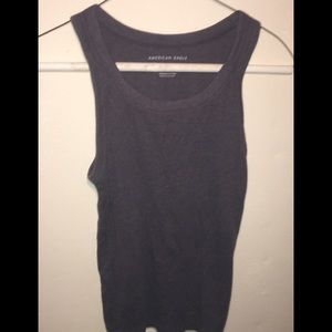 American Eagle Outfitters Navy Tank